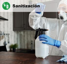 Nebulización y sanitización